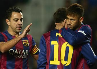 Neymar needs to mature to reach Messi levels - Xavi