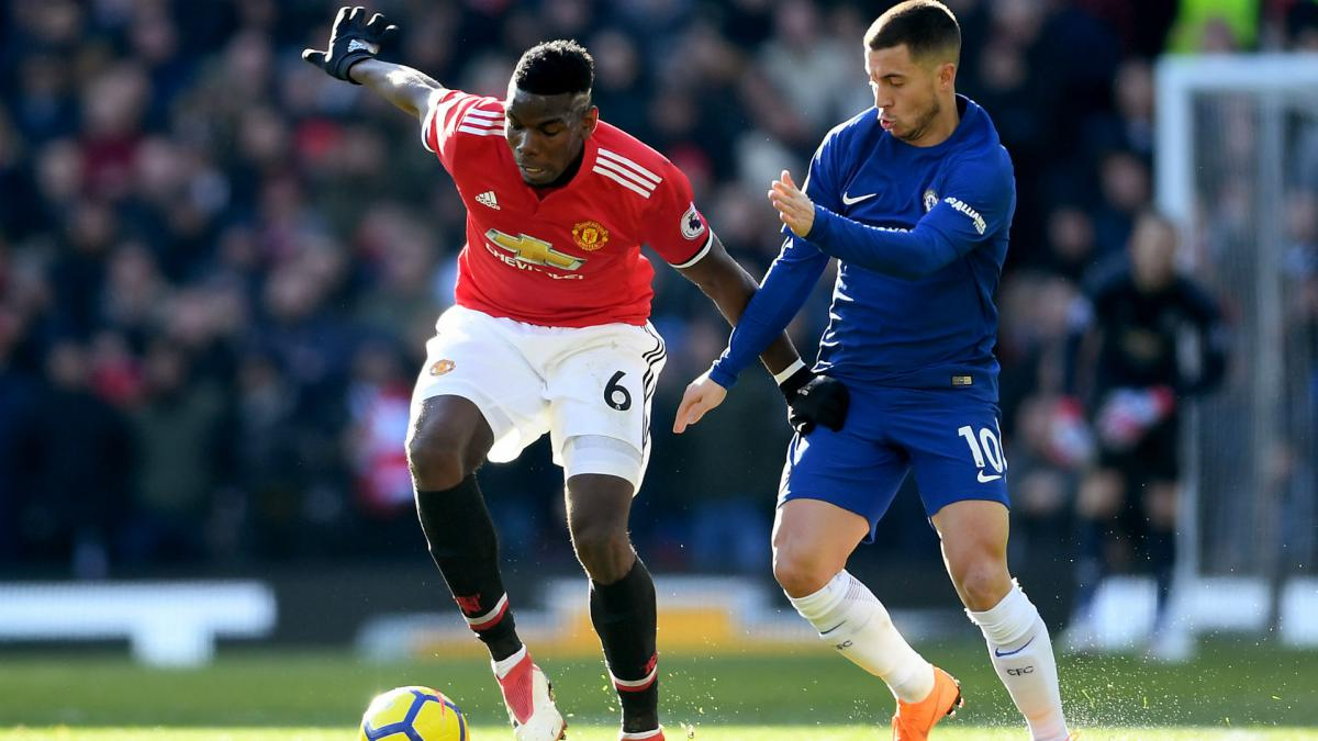 Pogba relishing 'pressure game' against in-form Hazard