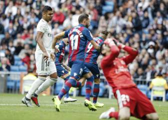 Real Madrid stunned by VARane penalty