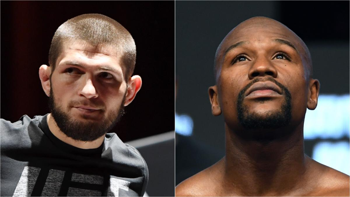 Khabib holds talks over Mayweather Moscow fight