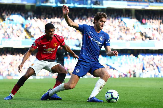 Image result for marcos alonso v united