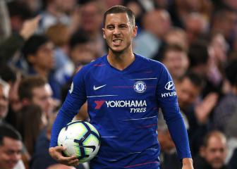 Hazard ruled out of BATE clash with back problem