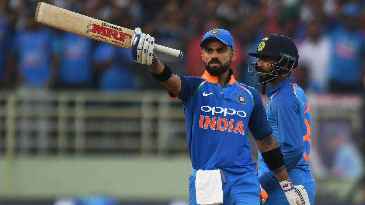 Kohli becomes fastest batsman to reach 10,000 ODI runs