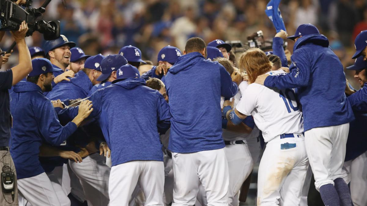 Records tumble as Dodgers win longest game in World Series history