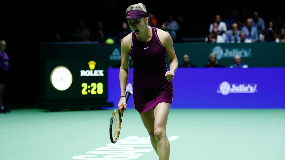 Svitolina battles past Bertens to reach maiden Singapore final