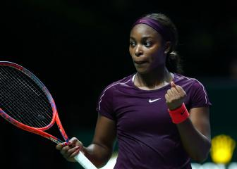 Stephens surge sets up Svitolina Singapore showpiece