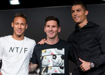 Neymar draws lessons from Ronaldo and 'idol' Messi