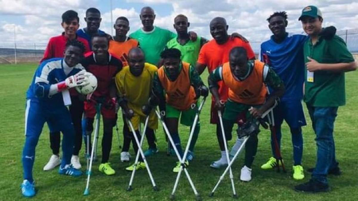Nigeria's amputee football team begin World Cup with a defeat