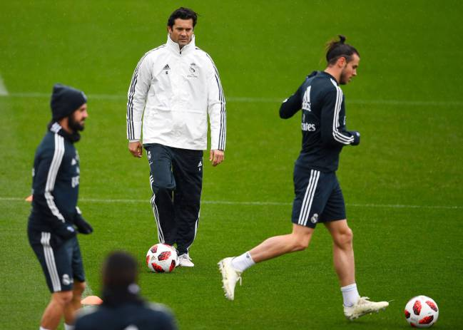 Temporary? | Interim coach of Real Madrid, Argentinian former player Santiago Solari.