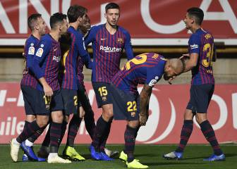 Late Lenglet header saves Barcelona against Leonesa
