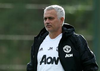 Mourinho says Manchester United are not in the title race