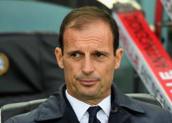 Allegri: Barcelona are Champions League favourites, not Juventus
