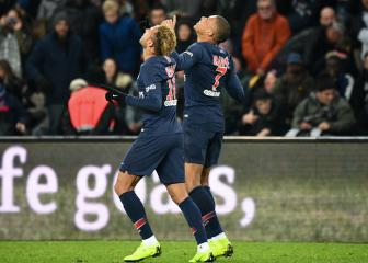 Paris Saint-Germain set new winning record in Europe's top five leagues