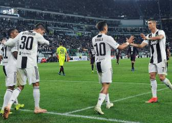 Juve see off spirited Cagliari to re-establish six-point lead