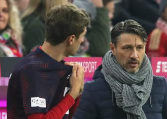 Müller's wife apologises over Kovac Instagram criticism