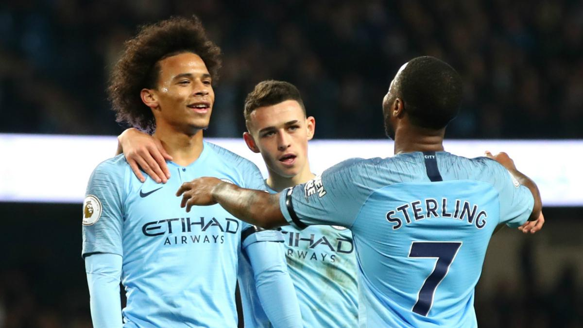 Sterling's delight as Man City leapfrog 'brilliant' Liverpool