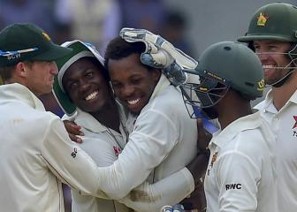 Zimbabwe end drought with Test win over Bangladesh