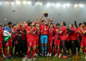 SIPG clinch title to end Evergrande's CSL supremacy