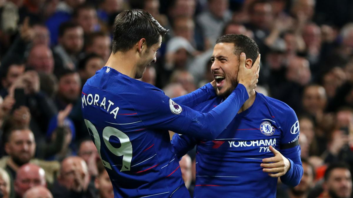 Chelsea to limit Hazard role as Morata misses BATE trip