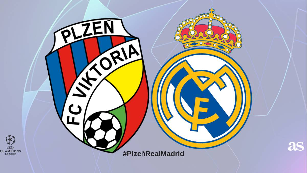 Viktoria Plzen - Real Madrid live online: Champions League