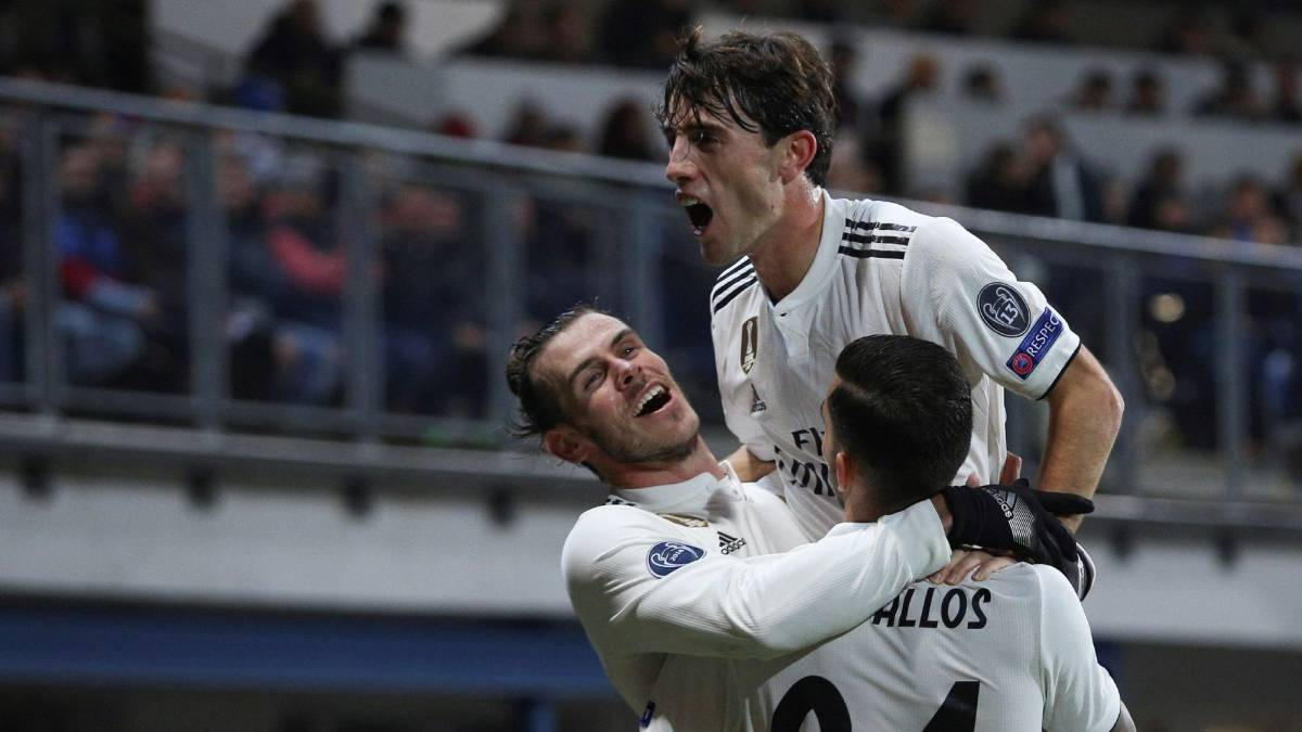 Solari's Real Madrid run riot against Viktoria Plzen