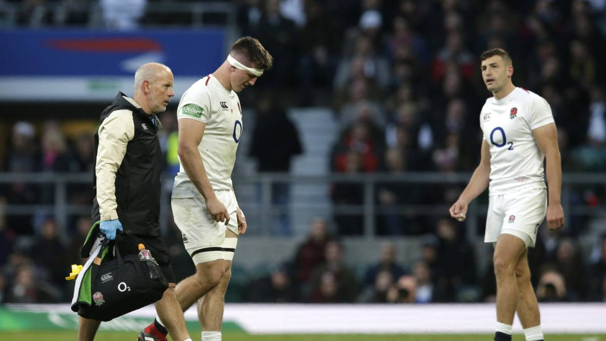 England flanker Tom Curry out autumn Tests with ankle injury