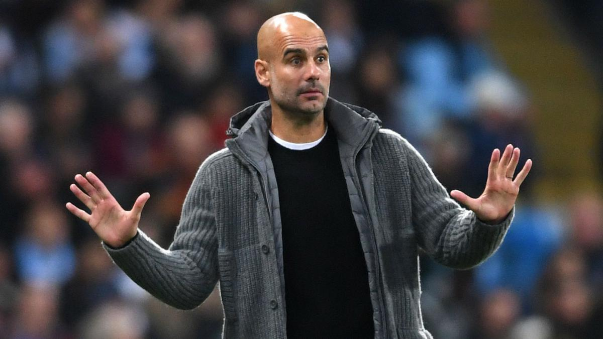Guardiola defends Sterling for not pointing out referee error