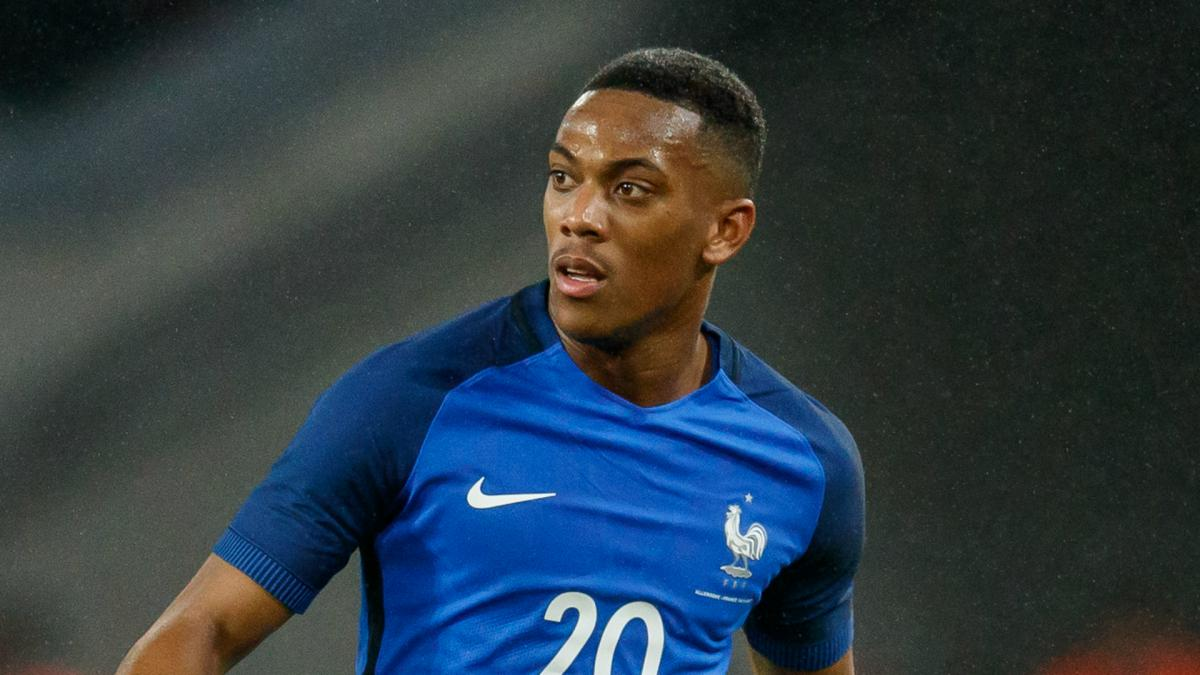 Martial form wins France recall