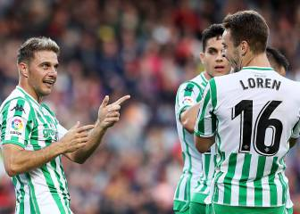 Betis beat Barcelona in historic win at the Camp Nou