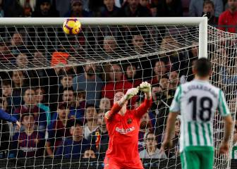 Ter Stegen is human after all: howler gifts Betis their third goal