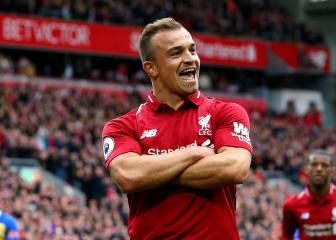 Shaqiri confident in more goals for Liverpool