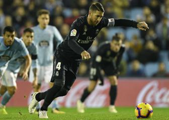 Panenka proud Sergio Ramos imitates his penalties