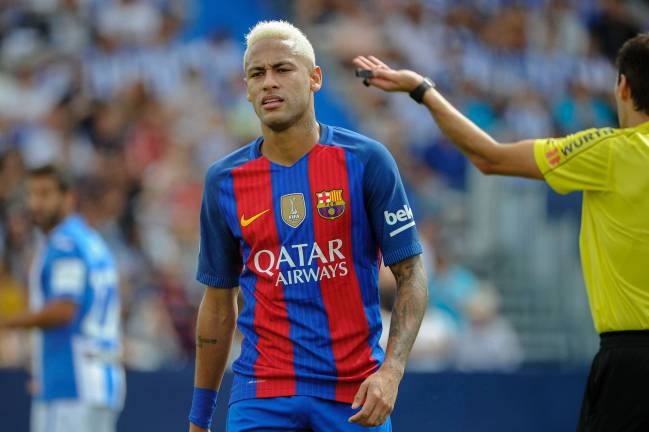 2016 | Neymar in Barcelona's colours but post-Guardiola.