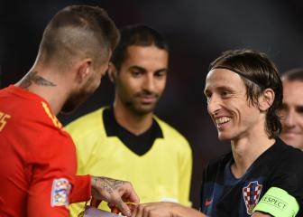 Modric defends Ramos after Lovren comments