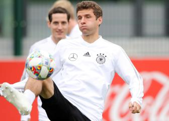 Müller going through