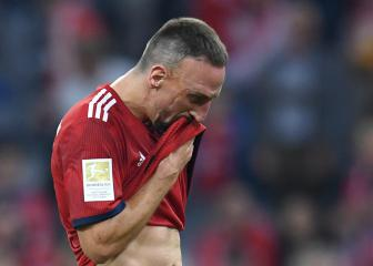 Franck Ribéry apologises for reporter