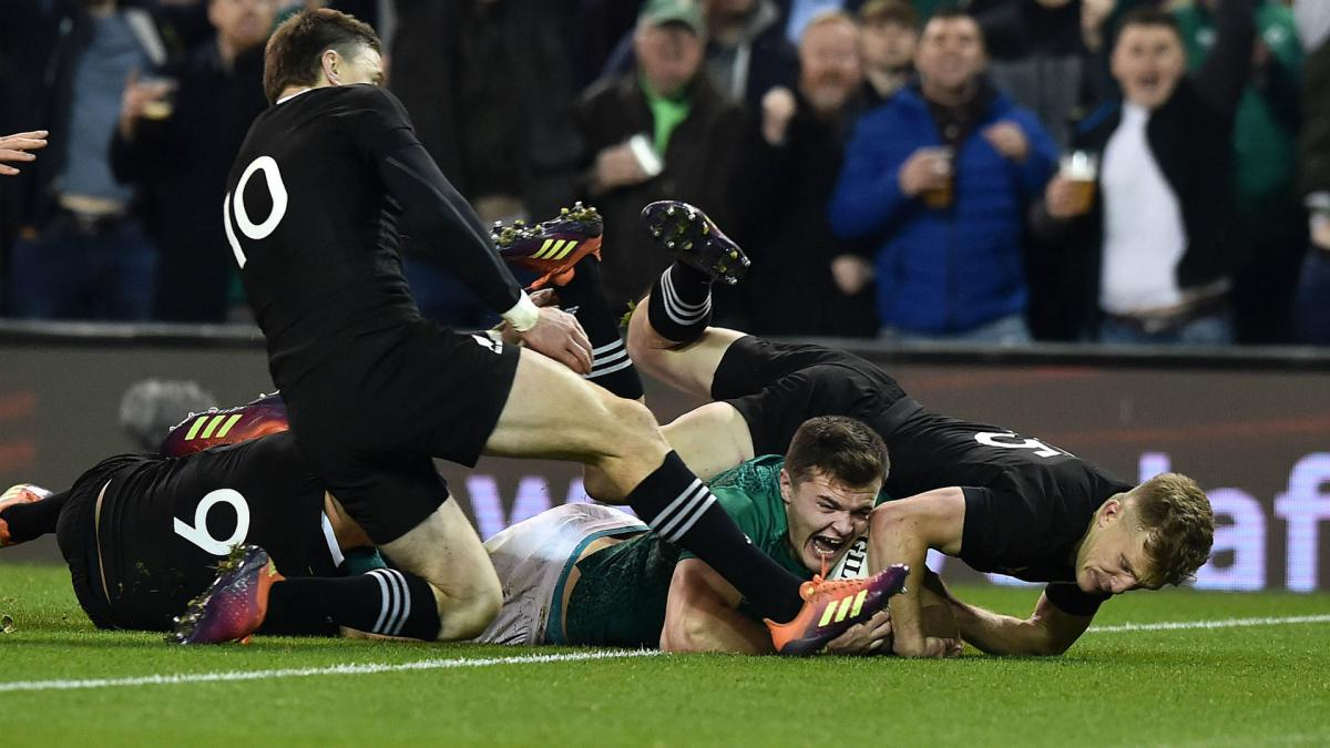 Dazzling Ireland claim historic All Blacks scalp in Dublin