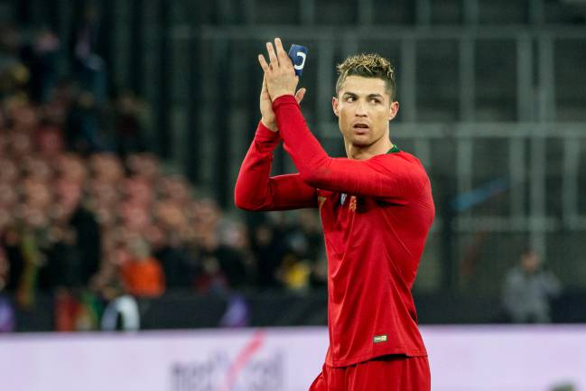 Good choice UEFA | Cristiano Ronaldo of Portugal