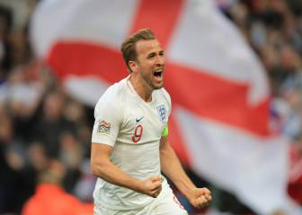 Kane strikes late to secure Nations League semi-final spot for England