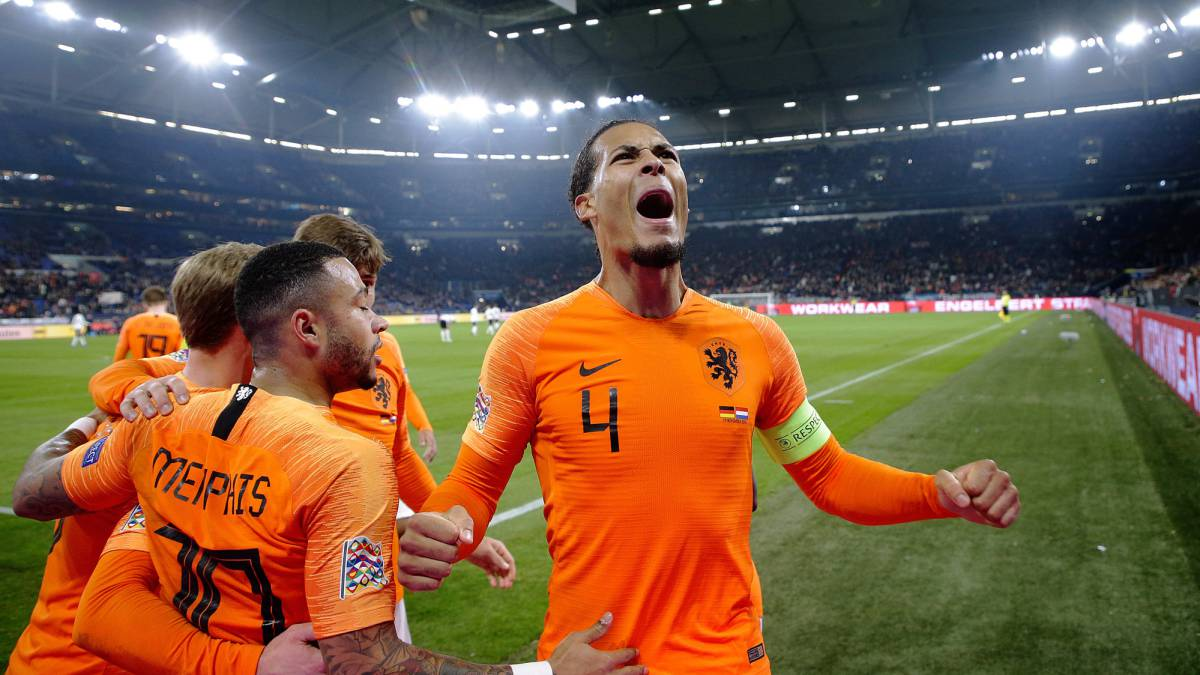 Nations League: Netherlands into finals after comeback in Germany