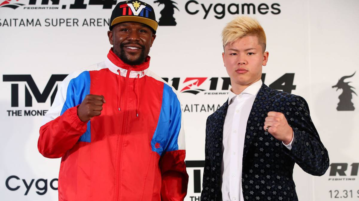 "Mayweather vs Nasukawa fight ""back on"""
