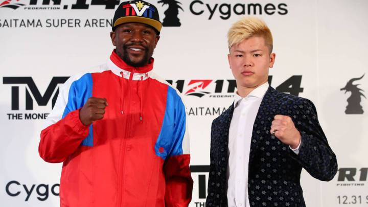 Mayweather vs Nasukawa fight \