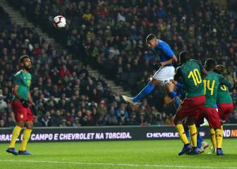 Richarlison header sees Brazil past Cameroon