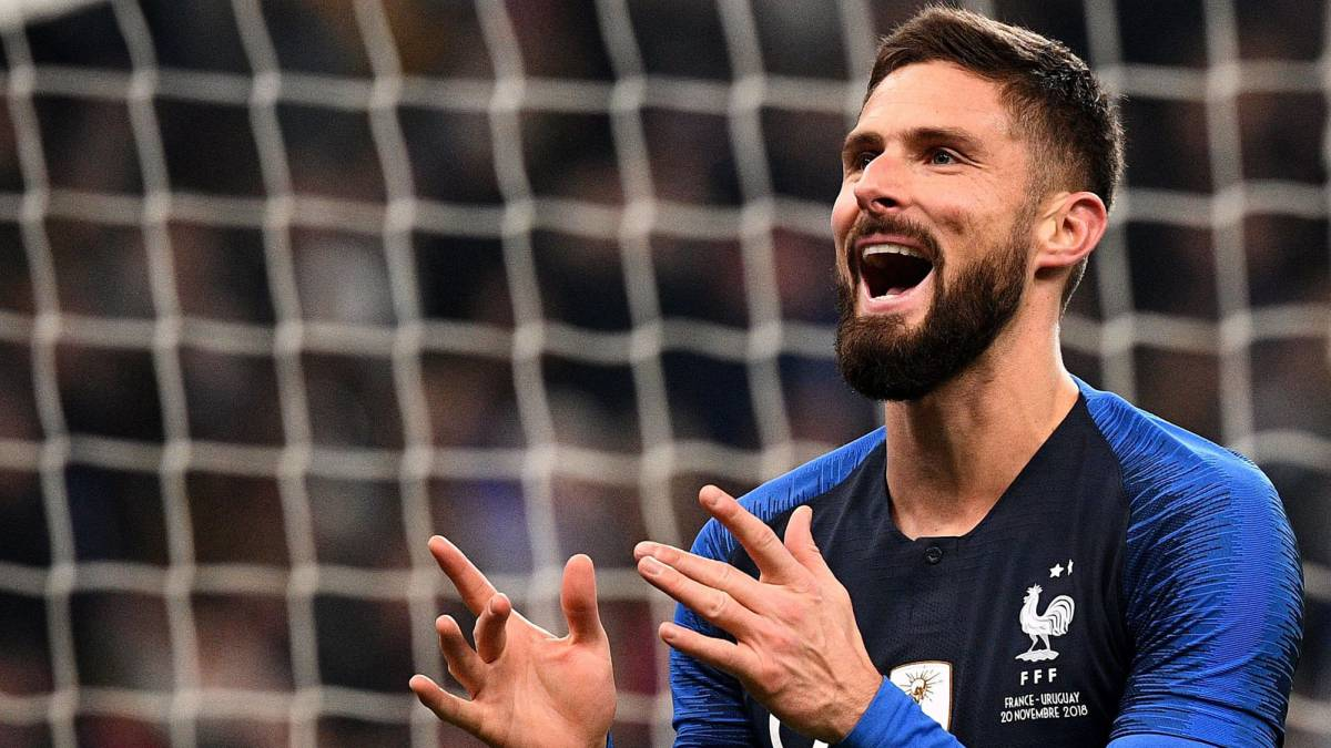 Giroud penalty earns France friendly win over Uruguay