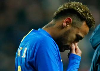 Neymar and Mbappé both injured during international friendlies