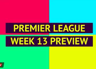 Opta Premier League Preview: Week 13