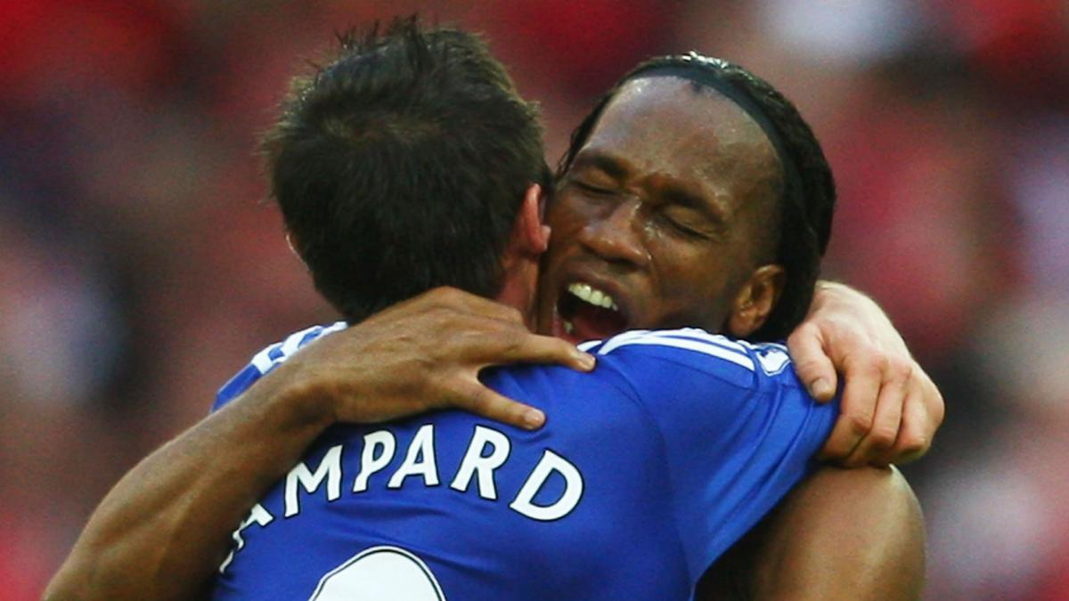 Lampard pays tribute to retiring 'monster' Drogba