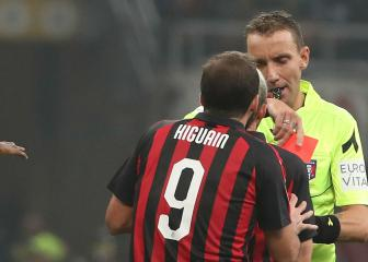 Higuaín appeal against Juventus red card rejected