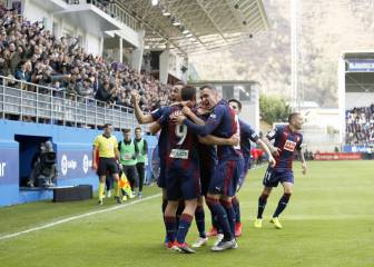 Exceptional Eibar gun down woeful Madrid