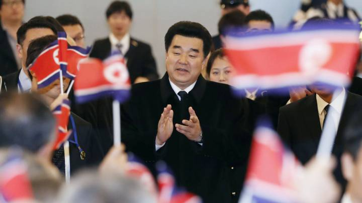 North Korean sports minister allowed into Japan for Olympic meetings